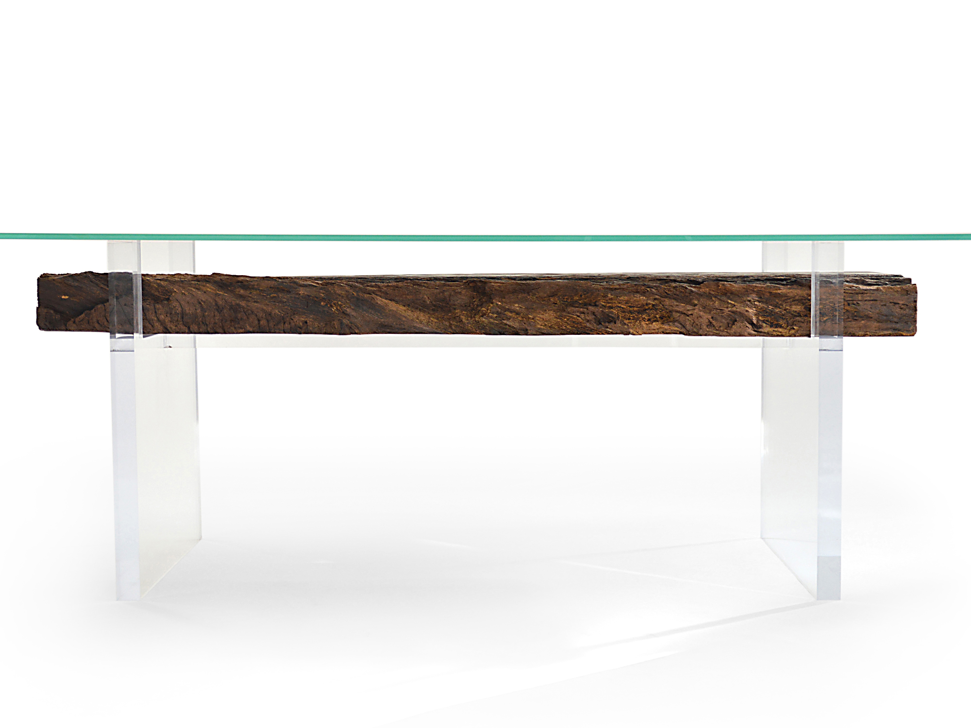 Rotsen-Furniture-Oitis Acrylic Dining Table - Glass Top 06