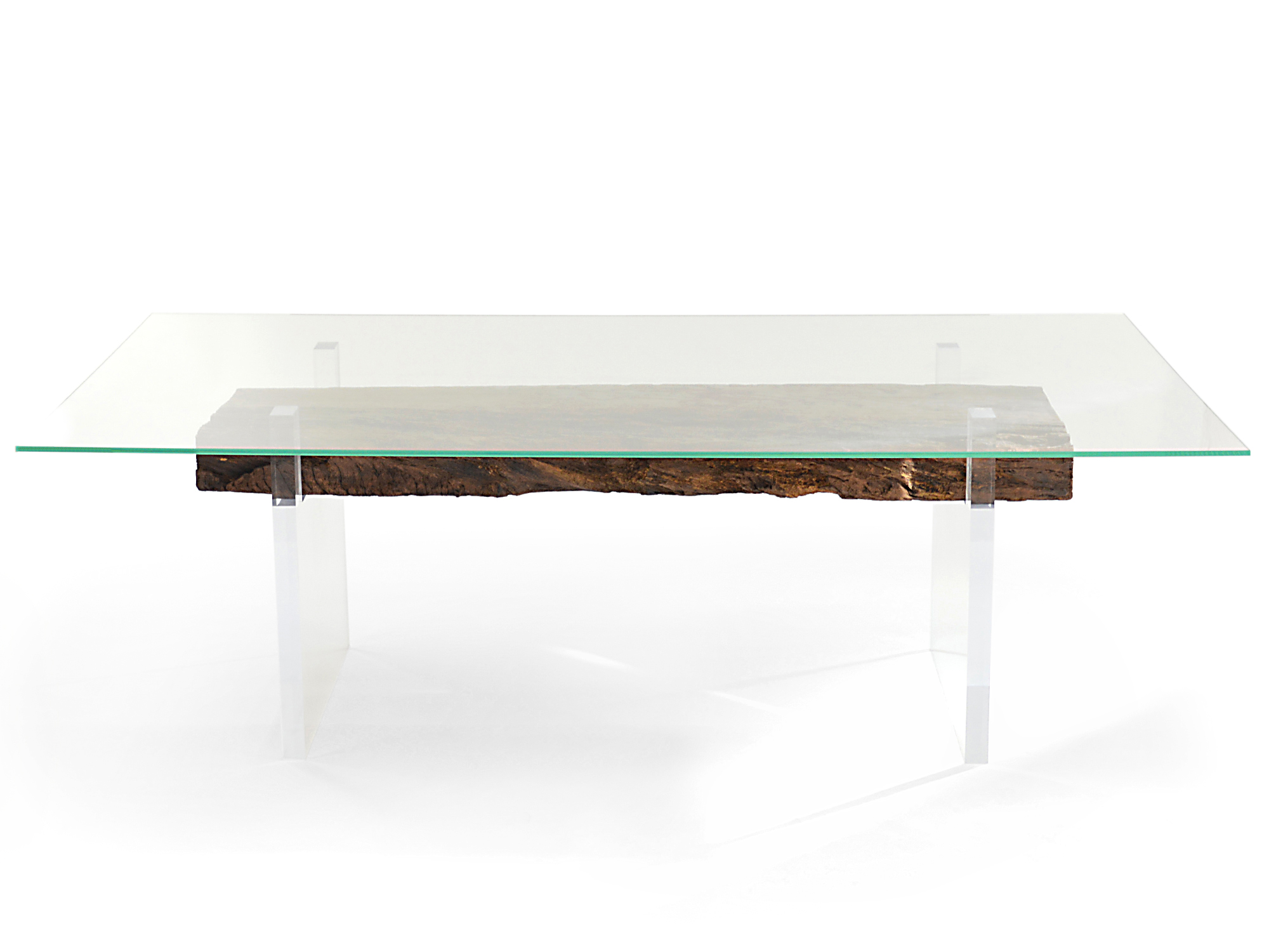 Rotsen-Furniture-Oitis Acrylic Dining Table - Glass Top 07